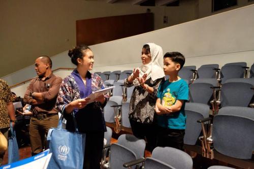 UNHCR Talk show