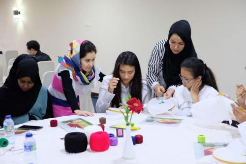 Embroidery Workshop (in collaboration with Beyond the Fabric)